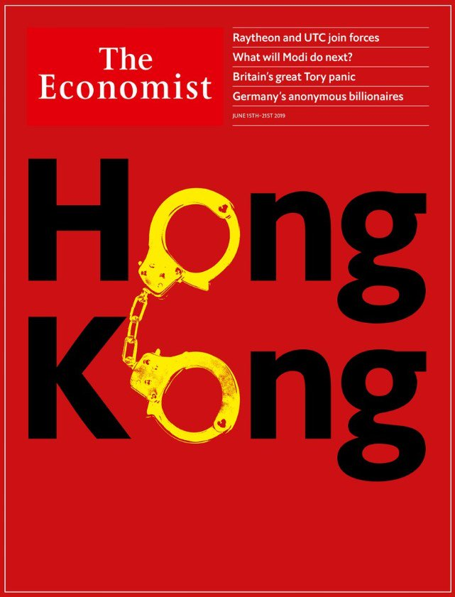 The covers of @TheEconomist and @TIME this week.  @notochinaextradition