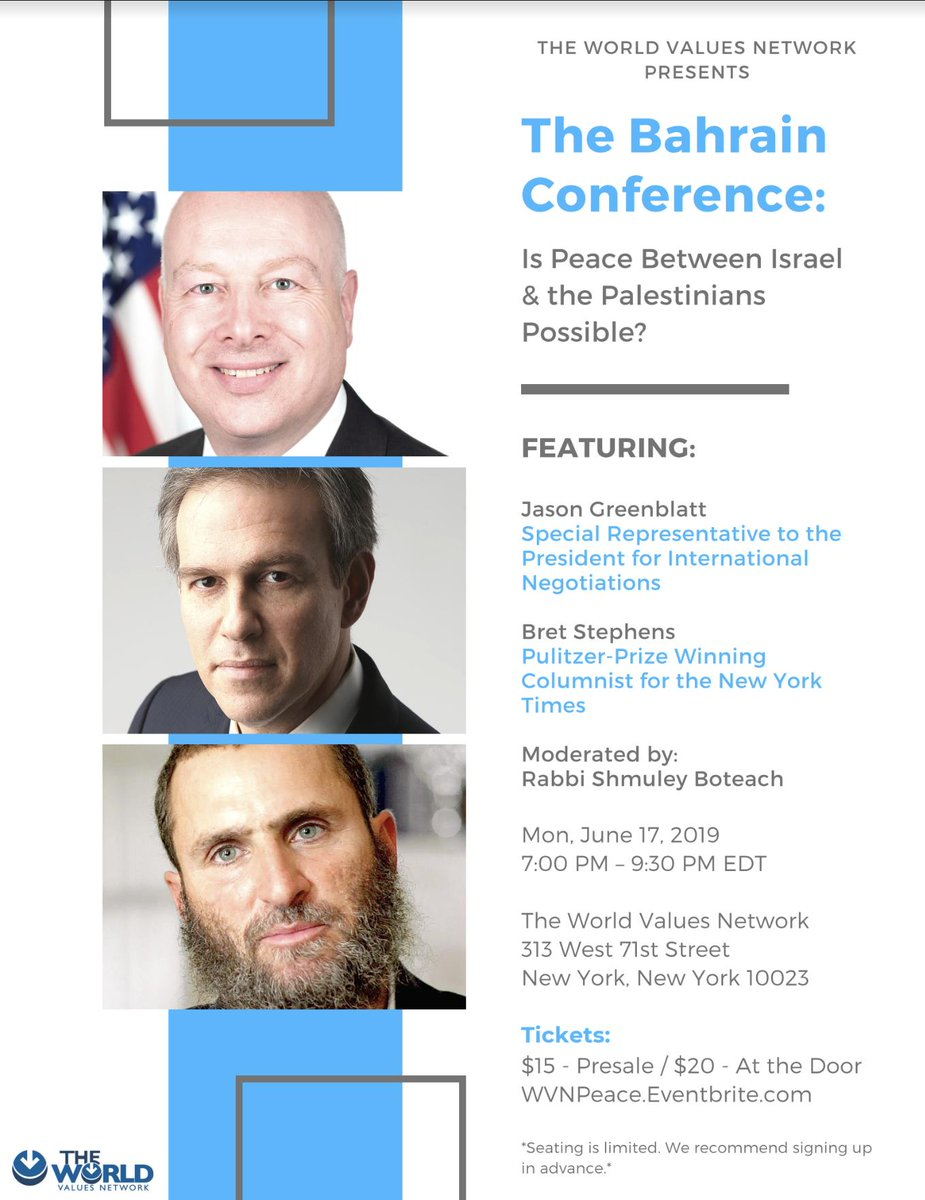 LAST CHANCE! JOIN US MONDAY NIGHT IN NYC!