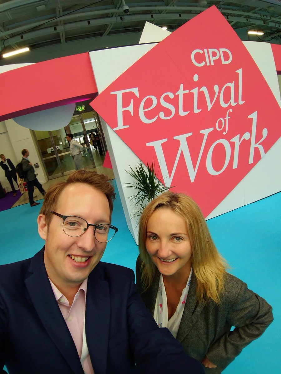 A pleasure to be with @Gibson1Paula at day 2 of the #FestivalOfWork #CIPD. Paula is one of our experts on workforce skills development, providing valuable advice to employers at our @CityGuildsGroup stand today. @cityandguilds @ILM_UK @kineo @The_OxfordGroup