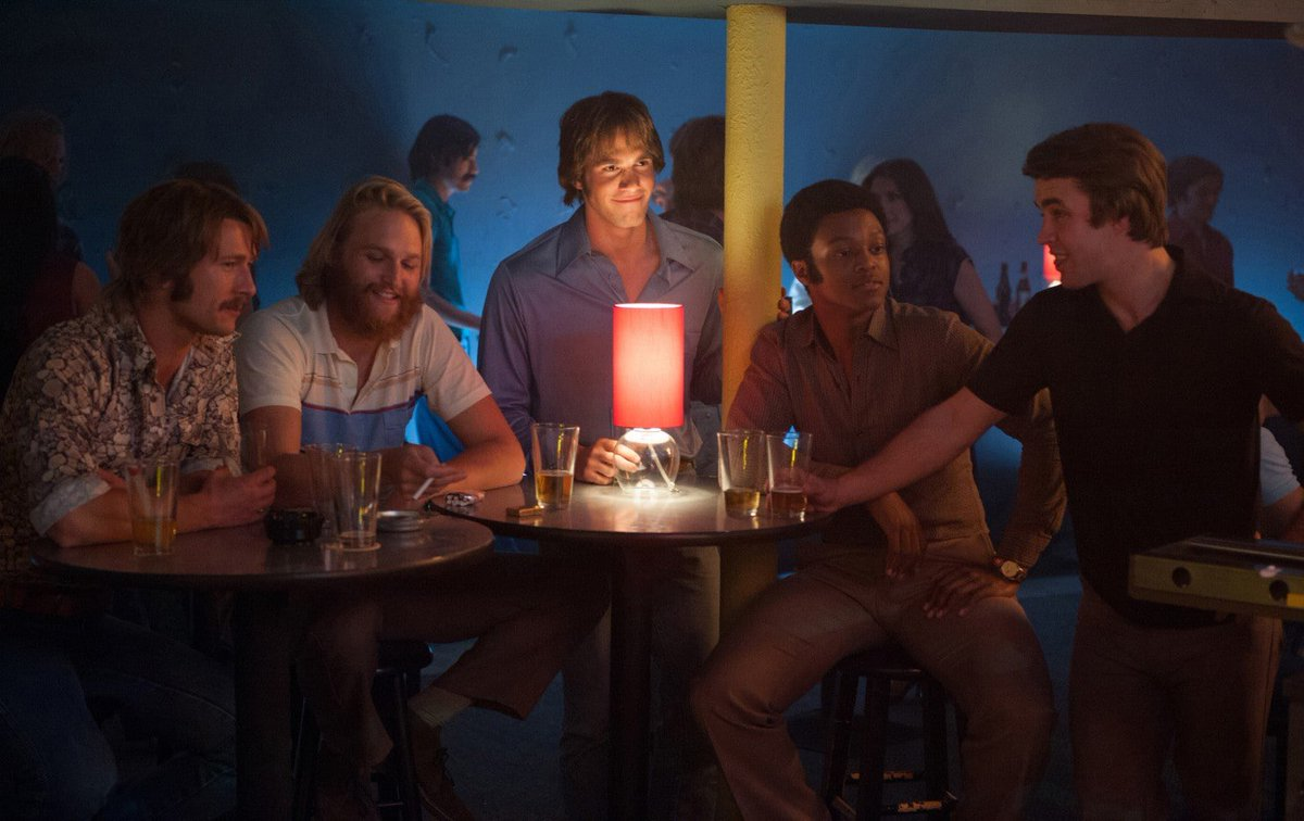 """We came for a good time, not for a long time.""  Richard Linklater's college comedy Everybody Wants Some!! Is up next at 12.55am. https://t.co/ct1ZHdNO0l"