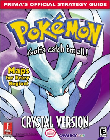 guide pokemon pdf crystal book
