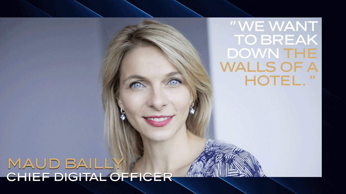 #Accor is embracing transformation. 💫 Maud Bailly - Chief Digital Officer explains the Group's Augmented Hospitality strategy to @traveldailycn. Discover her interview: https://bit.ly/31to43q  #LiveLimitless