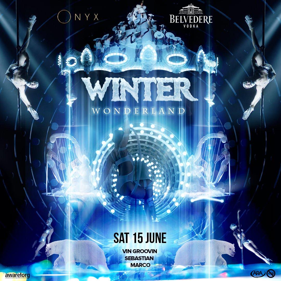 RT @Onyx_Sandton: A Magical Saturday Awaits You.. ❄️ @belvederevodka Presents The #WinterWonderland FT @VinGroovin https://t.co/x2k0aYS7ec
