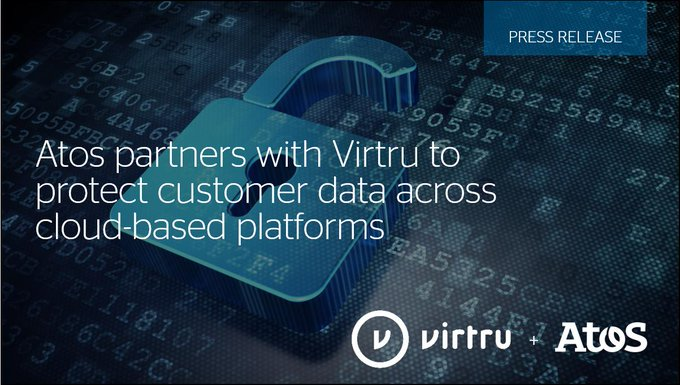 Atos and Virtru announce partnership to offer a data security solution for #DigitalWorkplace....