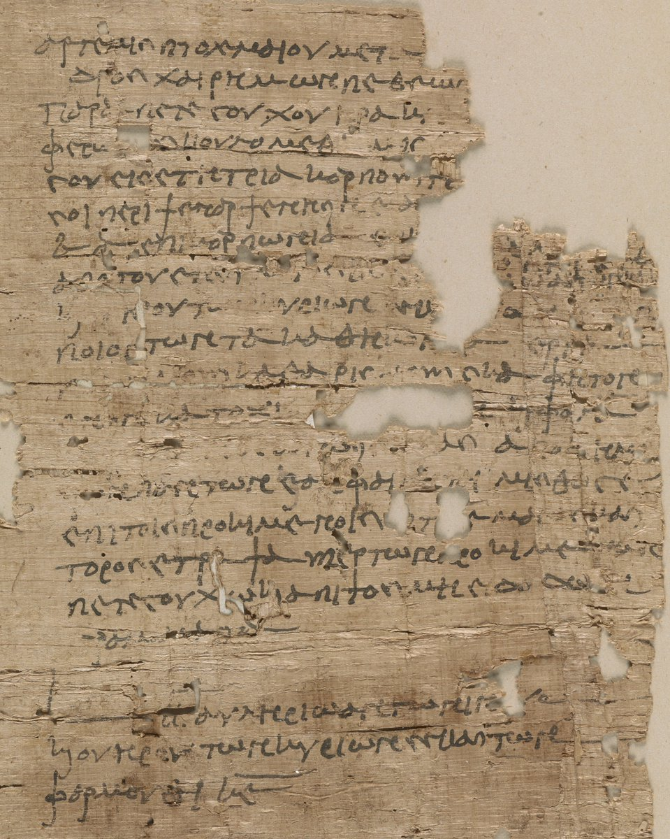 Ever heard of Psenharpsenesis, a little village in Middle Egypt? OK, it was abandoned 1600 years ago BUT this papyrus preserves its memory!   A woman leases her garden in 162AD @BLMedieval Papyrus 168  Marvel at the power of #writing at #MakingYourMark exhibit #ThursdayThoughts<br>http://pic.twitter.com/XCtxanQmpV