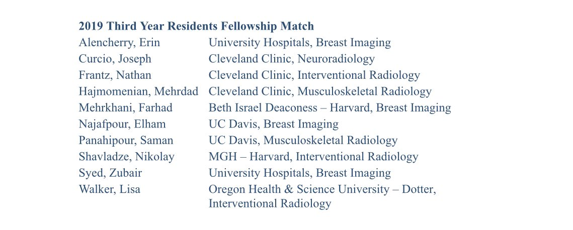 CleMammoEd - Cleveland Breast Imaging Education Twitter Profile