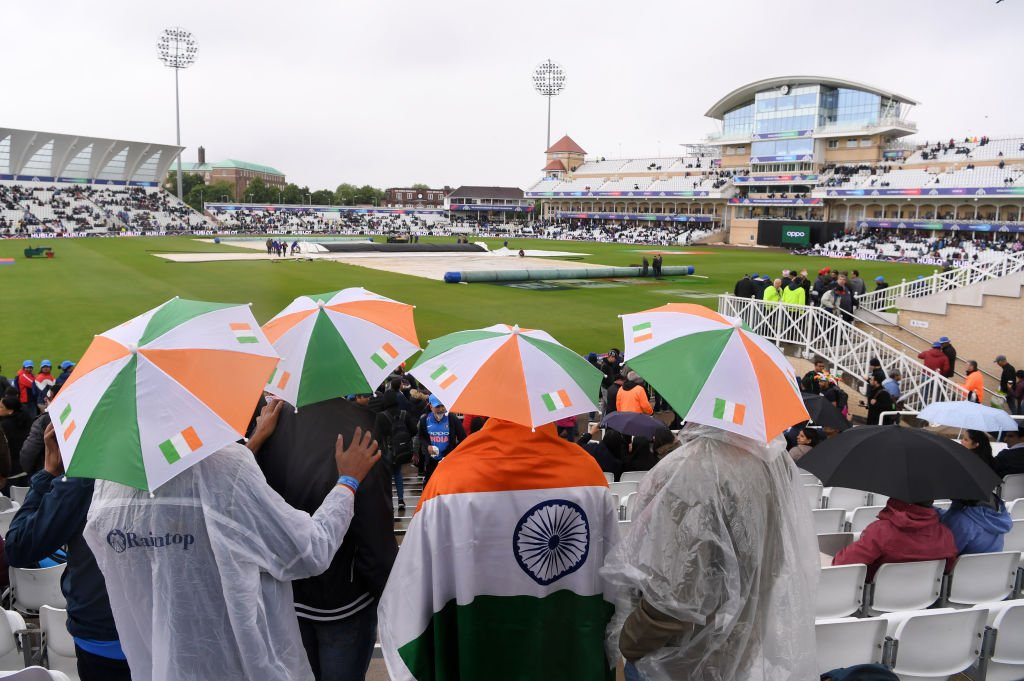 Bad news from Trent Bridge - the #CWC19 match between India and New Zealand has been abandoned because of the rain https://bbc.in/2KUHRmz  #bbccricket
