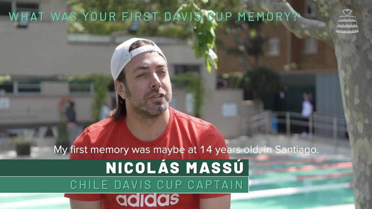 🇨🇱 Chile's Davis Cup captain, @massunico, told us about his first #DavisCup memory. What's yours? 🏆 #DavisCupMadridFinals | @ftch_oficial  Full interview 👉 http://ow.ly/J1hh50uDfdn