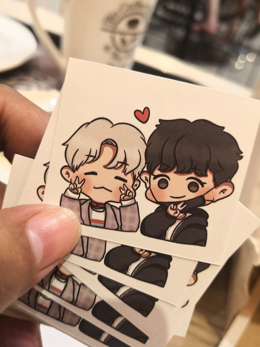 i'll be giving away also these cute stickers by @PcyMia   see you!   #ChanBaek #HappilyEverAfter <br>http://pic.twitter.com/JhIwxF4HiW