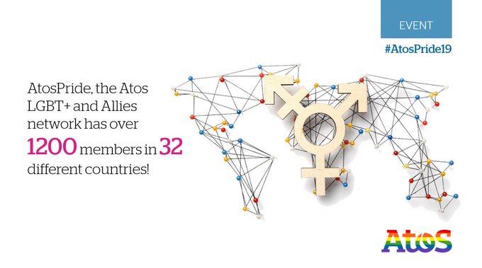 Did you know that #AtosPride, the Atos #LGBT+ and Allies network, has over 1200...