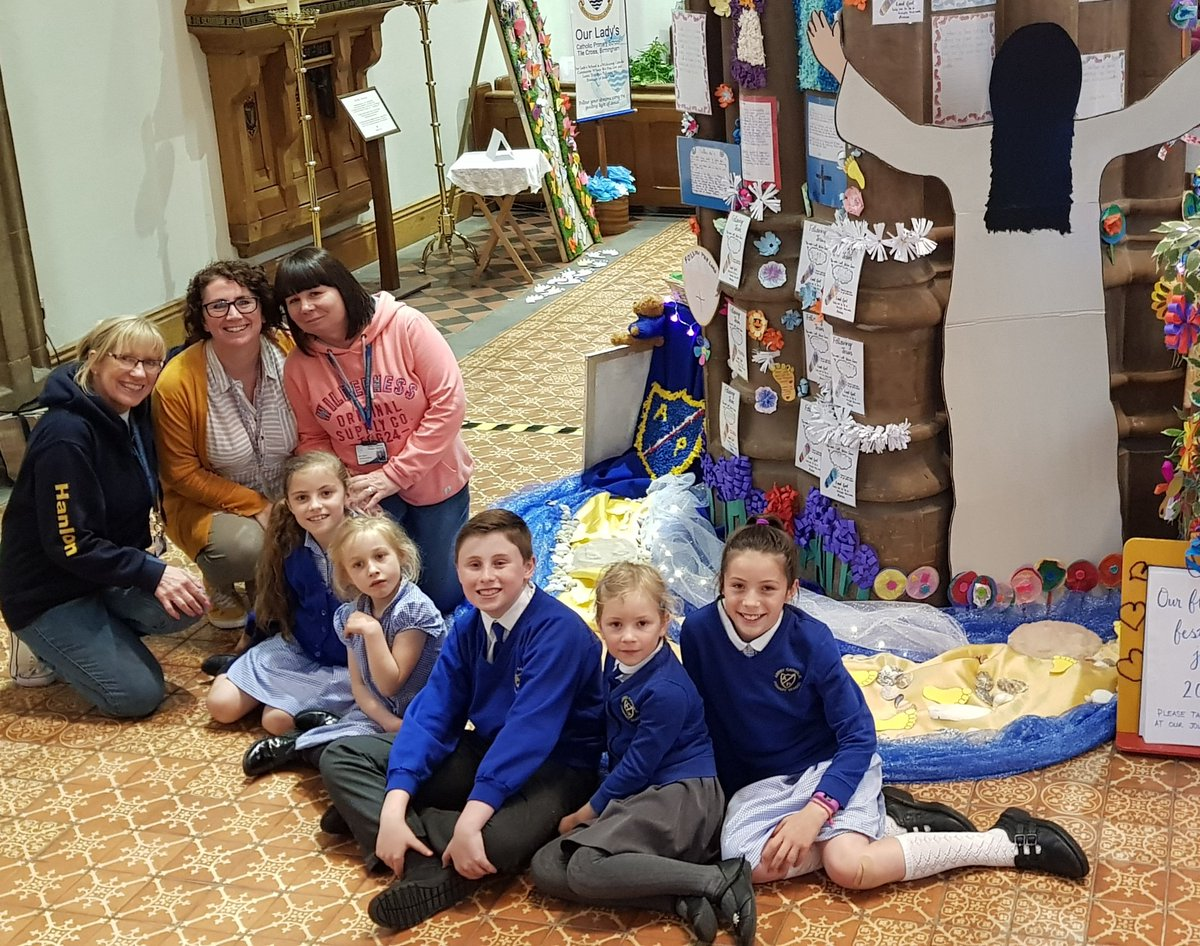 What a fabulous team effort! So lovely to see the lovely prayers and flowers created by every class on display @StChadsBirm #flowerfestival <br>http://pic.twitter.com/N1mbZhKPd6