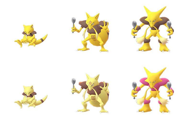 Image result for shiny abra in pokemon go