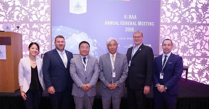Congrats the #AsBAA newly #elected Board of Directors & our new Chairman Wu Zhendong. Highest attended AGM held in Singapore, to date with over 110 member attendees. @AfricanBAA @icaoFangLIU @NBAA @MEBAA @BizAvIndia @EBAAorg @theaircharter @BBGA1 @CBAACanada @GAManufacturers https://t.co/TYKFHkdf3K