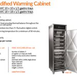 Take a look at some information about our humidified warming cabinets! Perfect for holding your meats without drying them out.   #WarmingCabinet #CommercialBBQ #BBQ #BritishMade #Restaurants #Food #Kitchens #CommercialKitchens