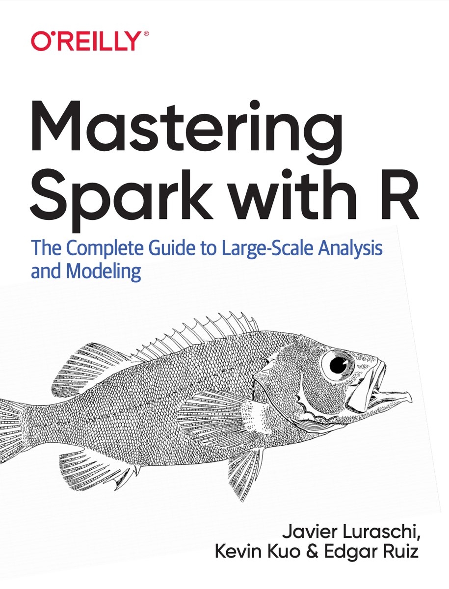 Dear R community, we are getting you a  with @OReillyMedia to learn large-scale #DataScience and #MachineLearning  using #ApacheSpark with #rstats! -- Currently on pre-sale , early preview next and scheduled to be published later in the year:  https://www. amazon.com/gp/product/149 204637X  … <br>http://pic.twitter.com/9YB5u4YXgA