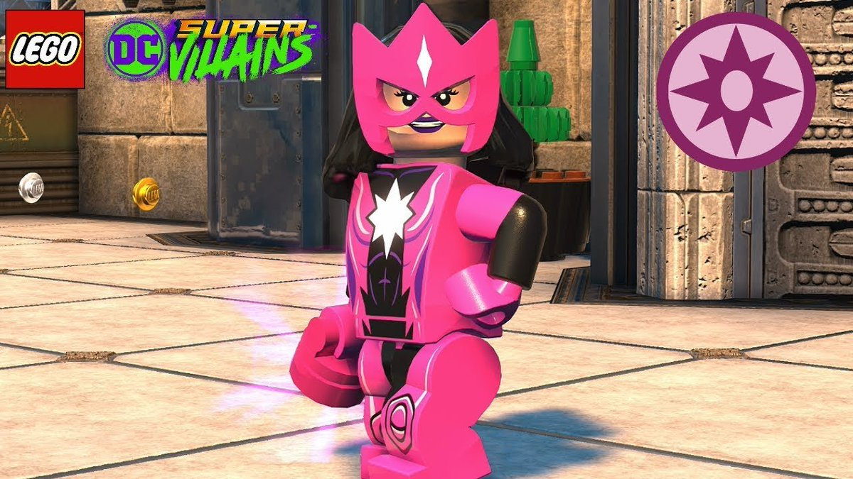 Again, #1stVideoGameCrush you nailed with the voice of.  Even in LEGO. But she's not my favorite character to play as in #LEGODCSuperVillains unfortunately, I'll say it again: Star Sapphire, my #2ndVideoGameCrush  I wish @OliviadAbo got to voice her again in that game. <br>http://pic.twitter.com/axWOoJWIgt