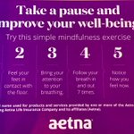 Image for the Tweet beginning: .@Aetna is proud to have