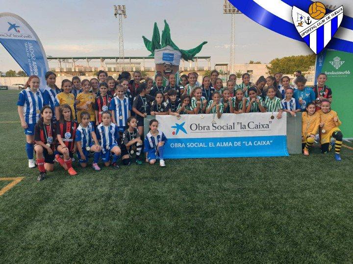 El Sporting Puerto de Huelva Alevín, subcampeón del I Torneo Real Betis Integra tras perder en la final por 3-0 ante el conjunto anfitrión. El Caixa Integra fue tercero y el C.D. Híspalis acabó cuarto.