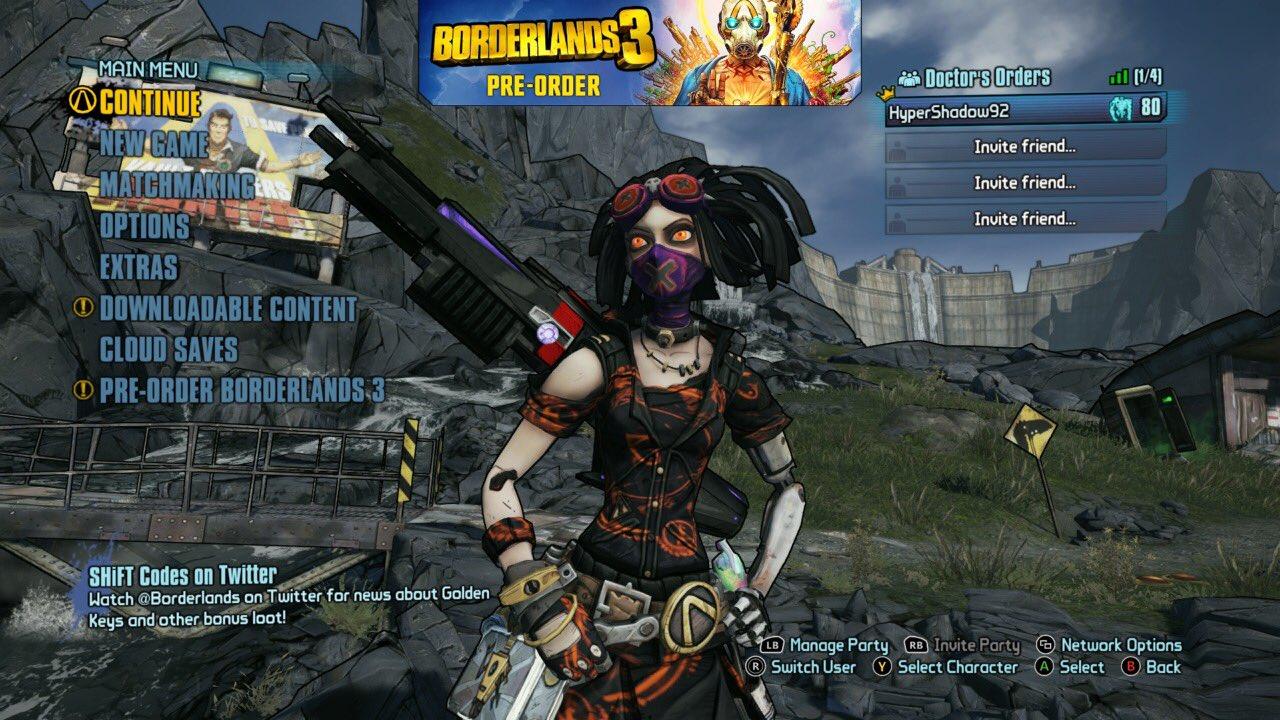 Borderlands 2 matchmaking