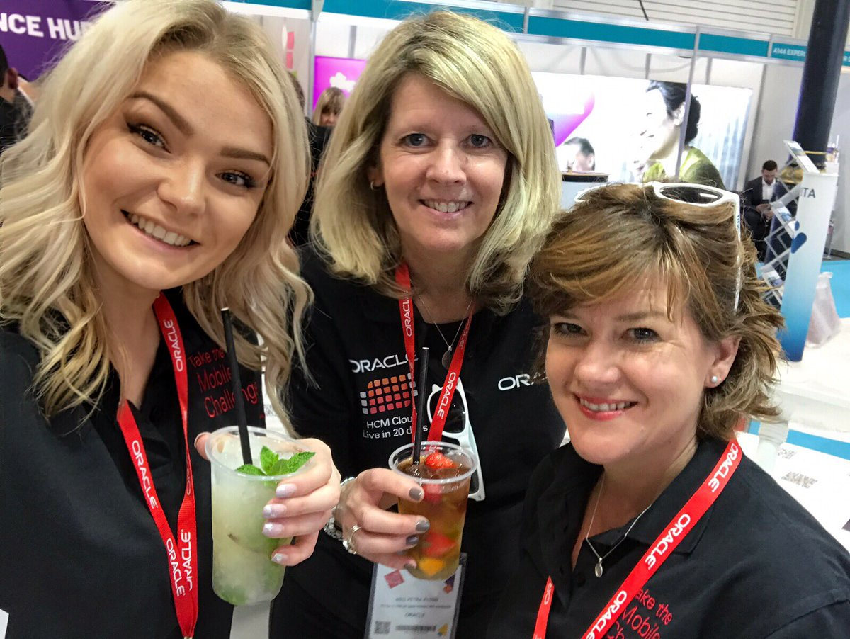 What a fantastic few days at the #CIPD @FestivalofWork ! The @OracleHCM team have loved meeting you all, safe travels home- we hope you enjoyed the doughnuts and demos 🍩