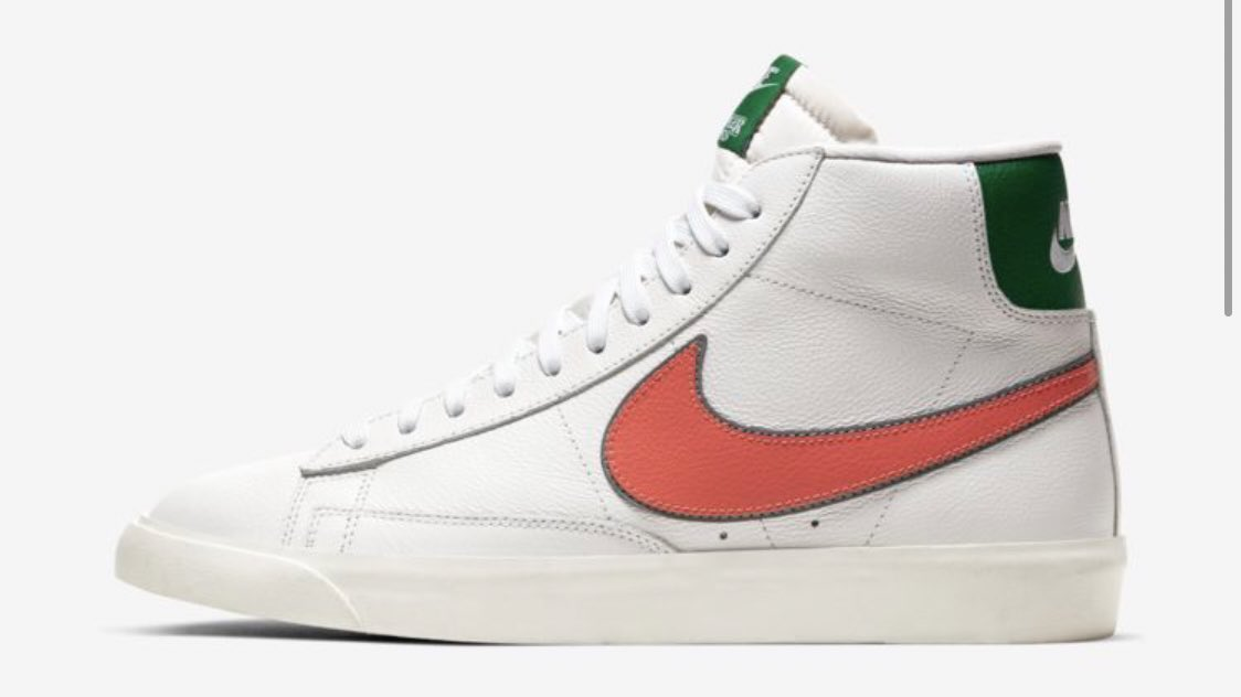 Nike x Stranger Things partnership is too good. 6 shoes from 1985. 3 with the kids' Hawkins High School colors + logo, 3 in more classic colors. Huge IP + huge brand = huge win.