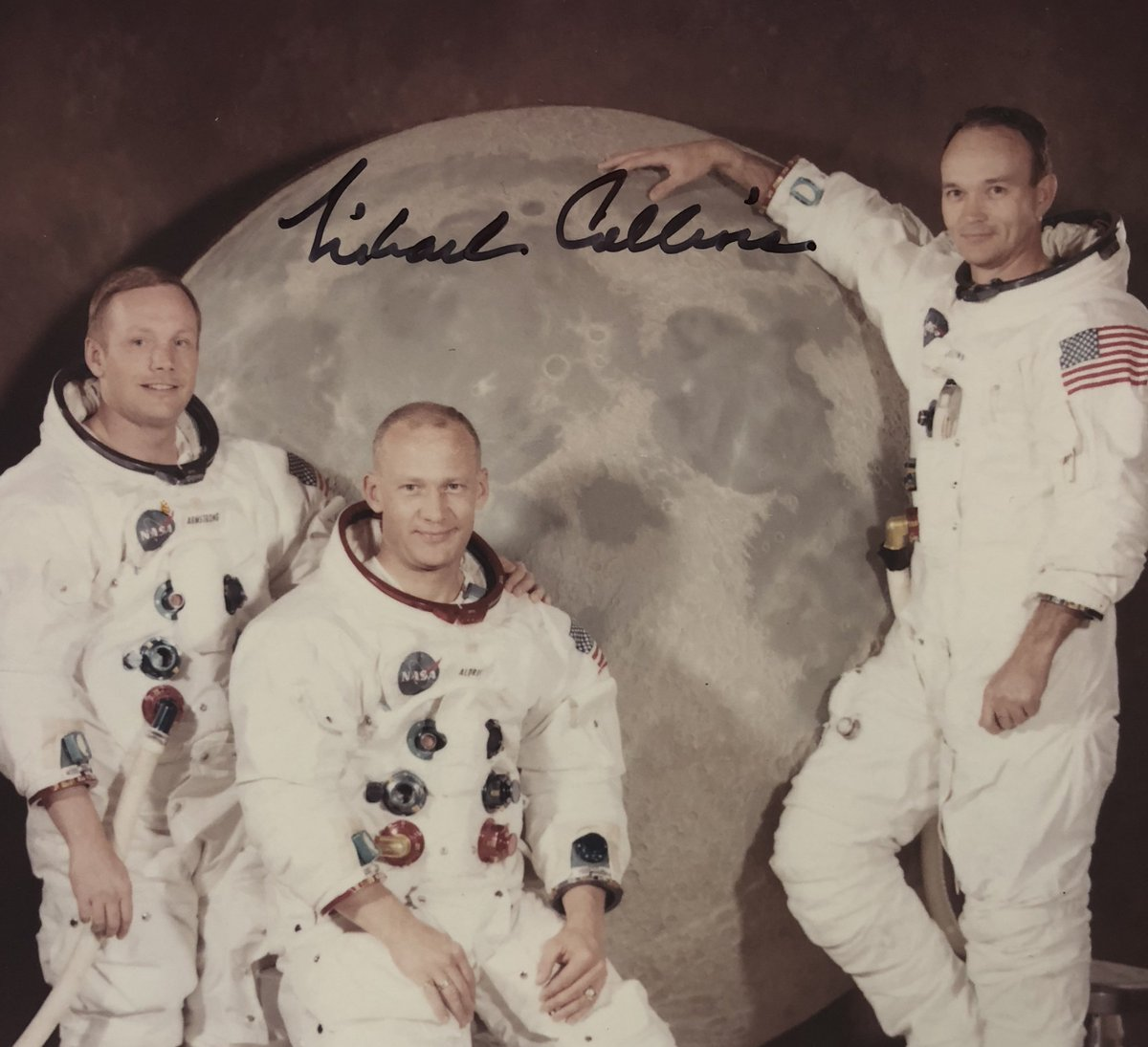 Apollo 11 astronaut Michael Collins shares unreleased photo he found 'at the bottom of a box'