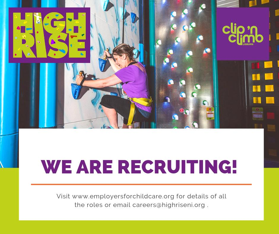 We are recruiting for a Digital Marketing Executive to join our team and be responsible for all digital marketing activity for our exciting new indoor adventure centre in Lisburn - High Rise. Full details here >> http://ow.ly/bpOJ30oW5kz Closing Monday 24 June at 12 noon.