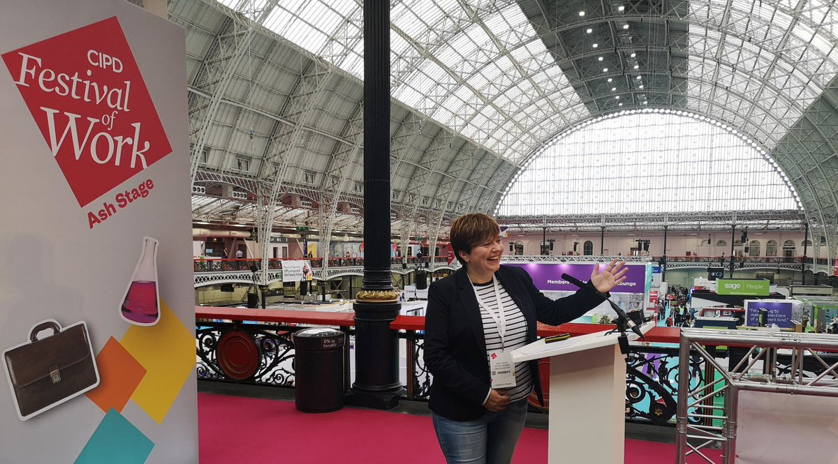 Loved speaking today on #AI in excellent company @RobMcCargow - thanks to all in the #FestivalofWork team! A stand out event #LTW & look forward to 2020 already! Here are a few favourite shots .... and what stars Max & Harper are from @PurinaUK ! #wellbeing #futureofwork #talent