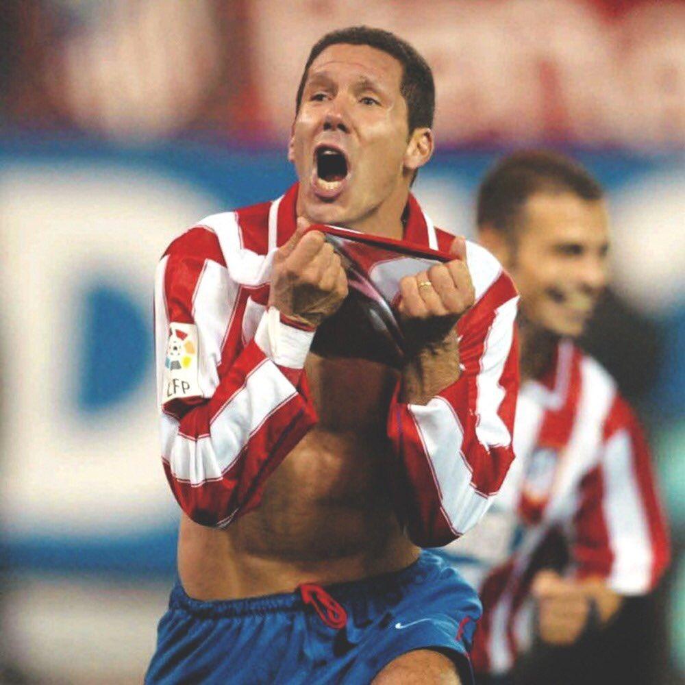 25 años de mi primera vez en el Atlético de Madrid. Una gran alegría y una enorme responsabilidad ser parte de tu historia @Atleti