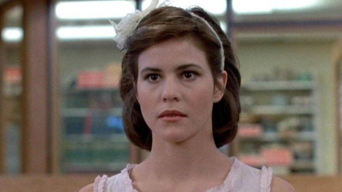 Happy Birthday to Ally Sheedy.   What... Claire did it.