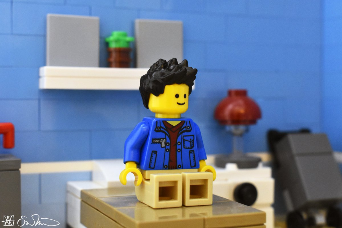 Having his first day off in months, the grad student does not know what to do with himself.