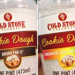 Image for the Tweet beginning: Cold Stone Cookie Dough Pints