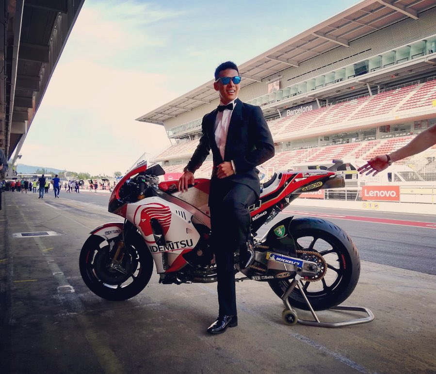 Ready for Rd.7 #CatalanGP 🤵🏻 #MotoGP