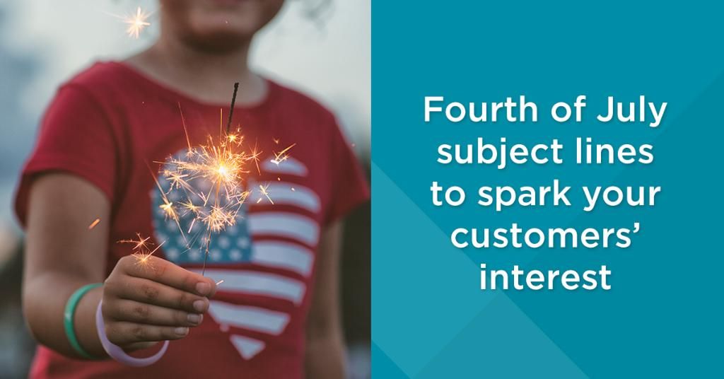 Fire up your #email campaigns with star-spangled subject lines. Check out these examples for inspiration: https://t.co/U8VlaELbhK #FourthofJuly https://t.co/fjHZoShAWJ