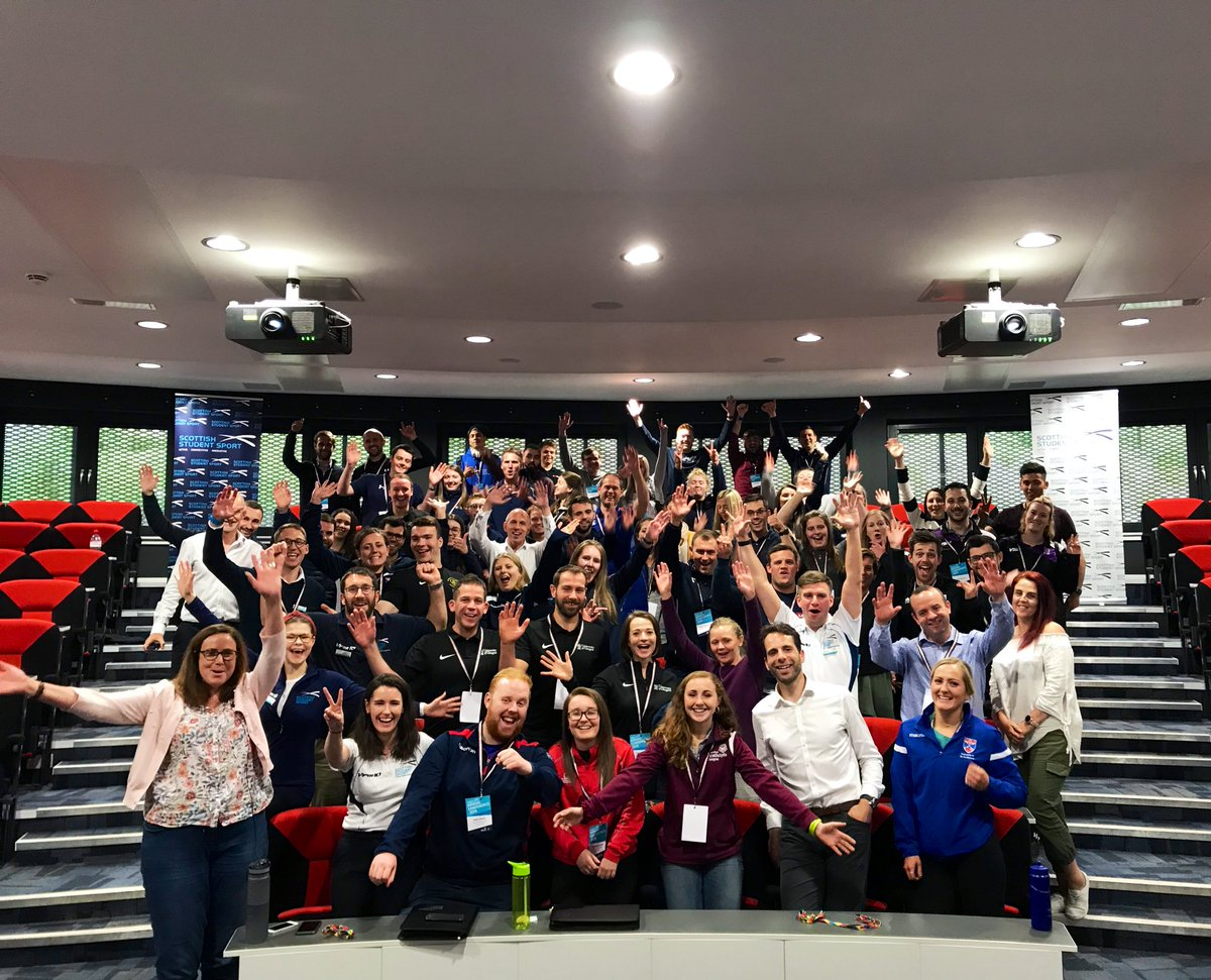 It's a wrap! Thank you to all the delegates who came to the SSS Conference 2019 and also to our guest speakers & wonderful @UniStrathclyde hosts. It's been a blast and we can't wait to see what the 2019-2020 season will bring for the Scottish Student sector! 🙌🏻 https://t.co/4fj3jB6h4O