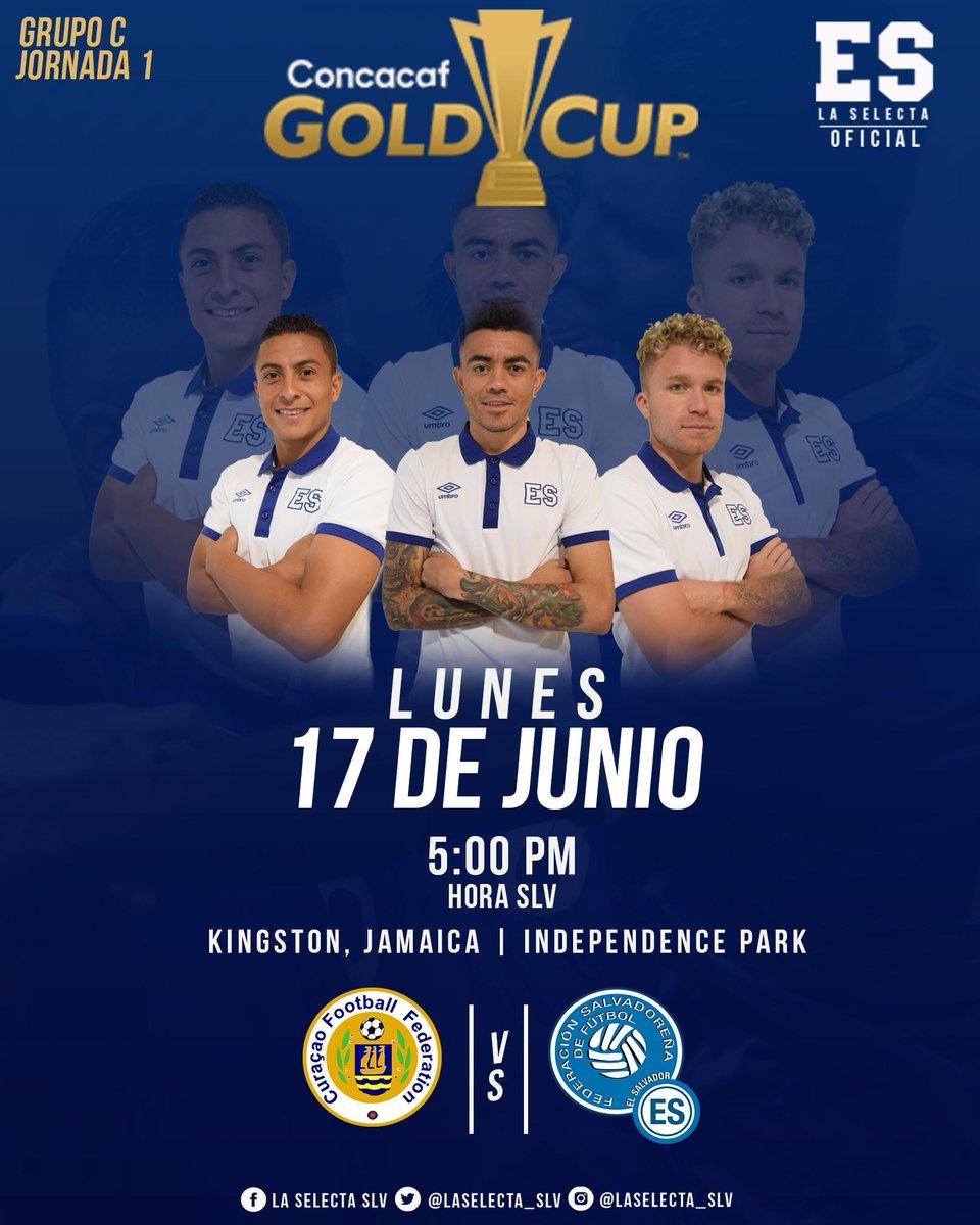 Copa Oro 2019: El Salvador vs Curazao. Preparacion del juego. D89Pka8XsAAYsXn