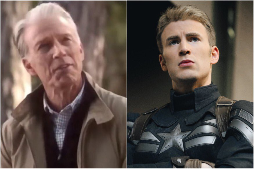 Happy birthday @ChrisEvans!! Wow you've aged quite a lot in 1 day  #endgamespoiler https://t.co/T9mKwy1SsK