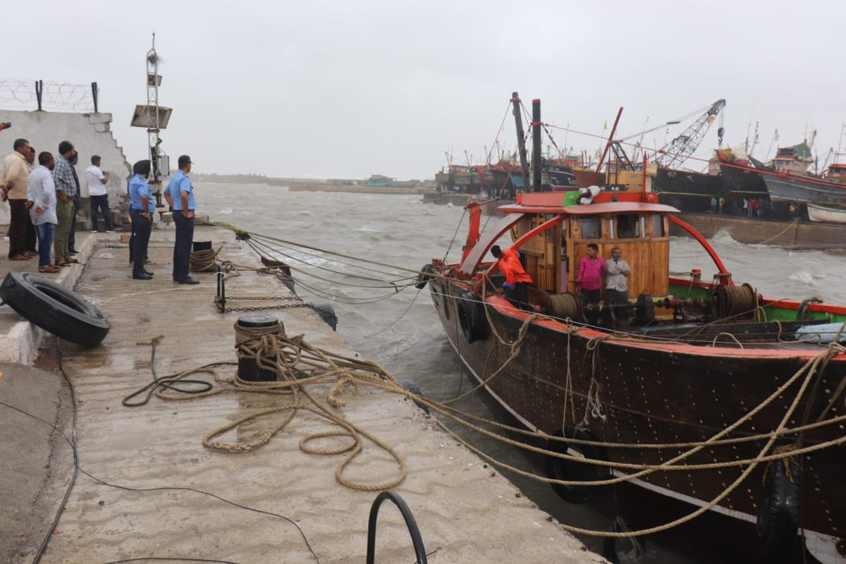 Coast Guard save fishing boats near Veraval