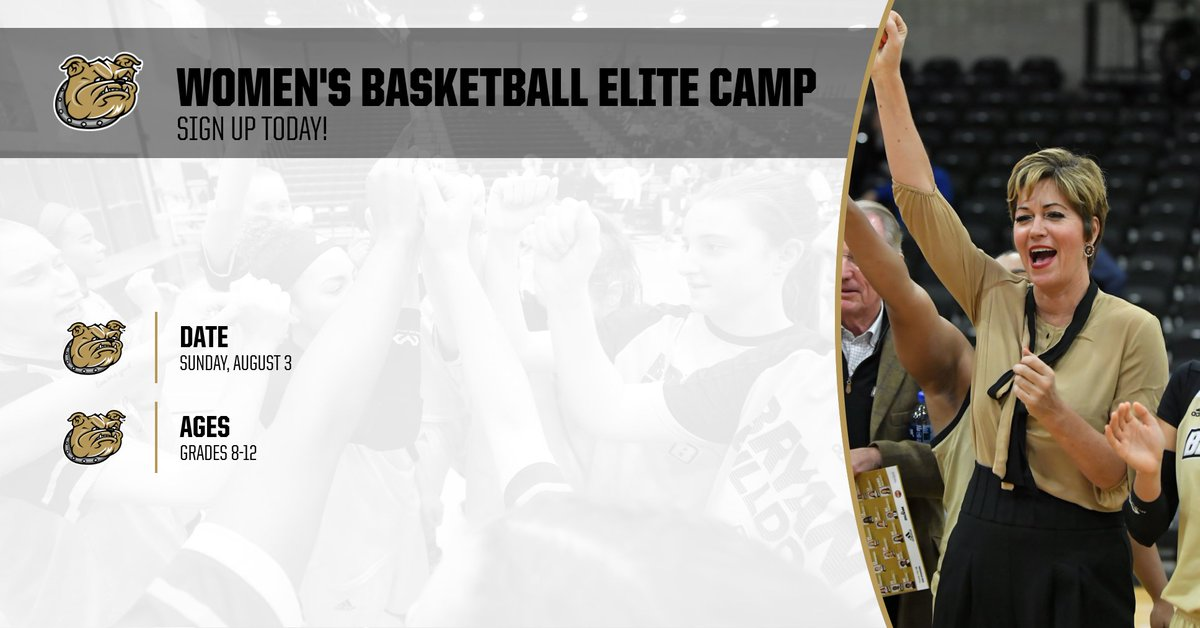 August will be here before you know it! Sign up today and reserve your spot in our Elite Camp.  📝: http://bit.ly/WBB19_Camps   #AllHeart | #AllHustle | #GoBryant
