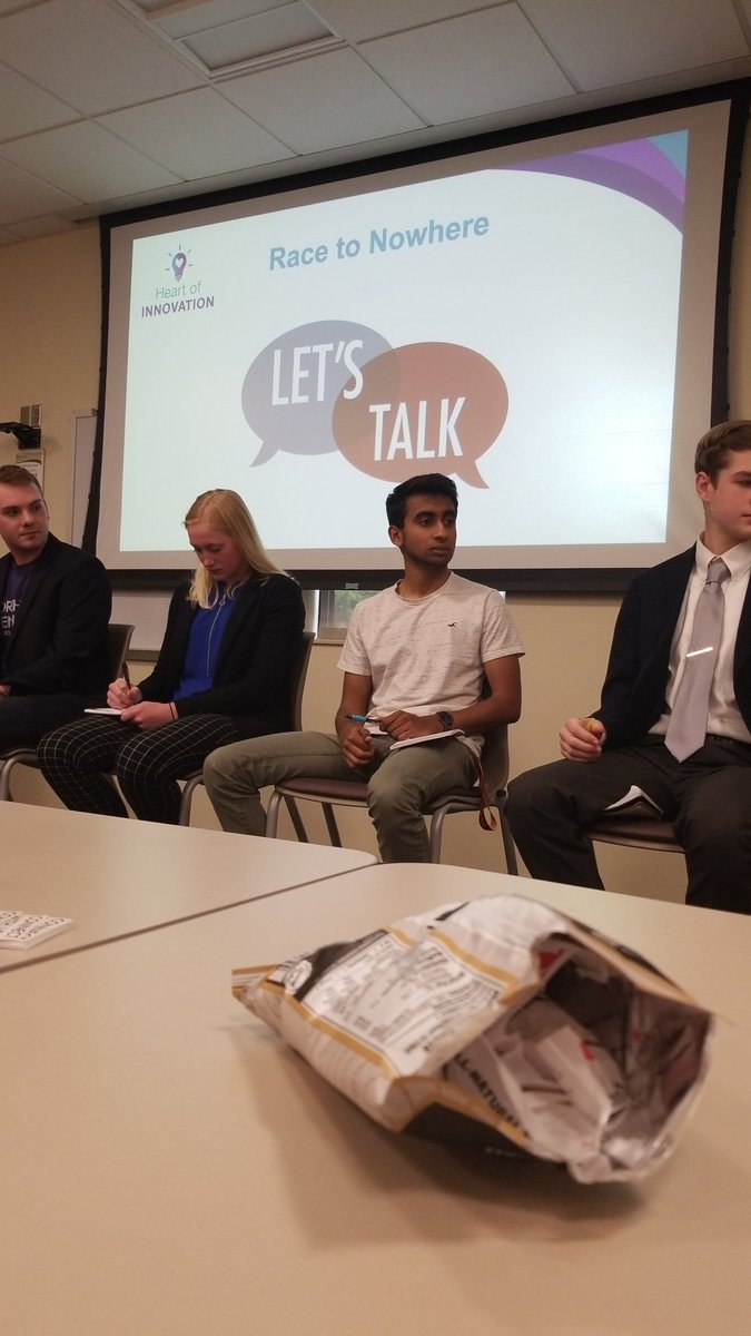 So many great insights from our student panel. We need to hear the voices of those we serve! #HAEAinnovate