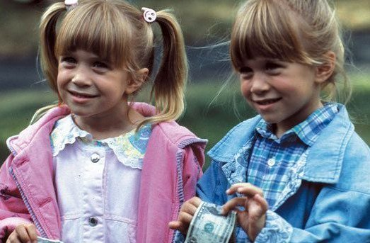 Happy Birthday to the cutest twins, Mary-Kate and Ashley Olsen!