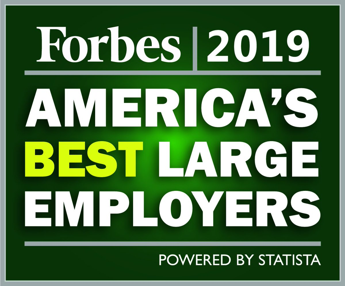Proud to find ourselves ranked on @Forbes Best Employers by State list for #NewYork, #Florida, #Iowa, #Massachusetts and #Texas. #TeamSiemens http://bit.ly/2WKBNE3