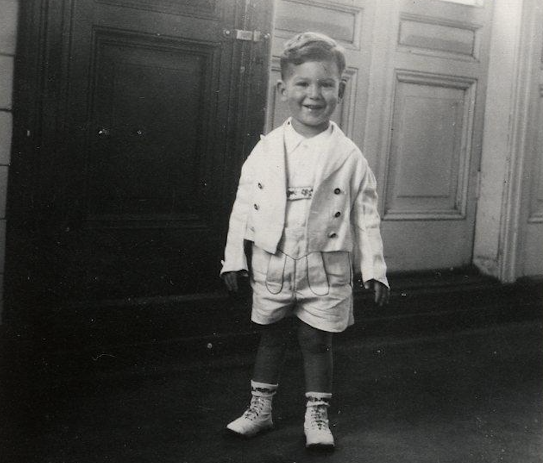 Joachim Hirsch turned two the day the MS #StLouis sailed from Germany, carrying with it the hopes of about 900 mostly Jewish passengers, fleeing the Nazis. When the ship returned to Europe, Joachim went to the Netherlands and was later deported to Auschwitz where he was murdered.
