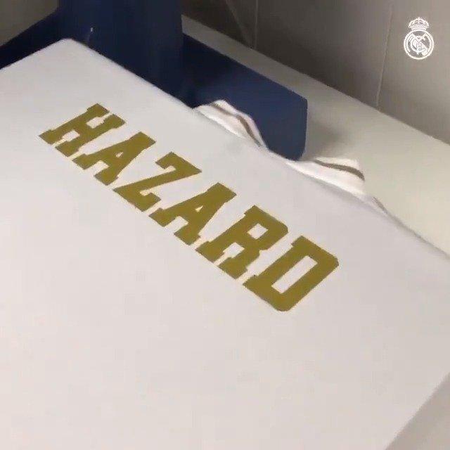 @realmadrid's photo on Hazard