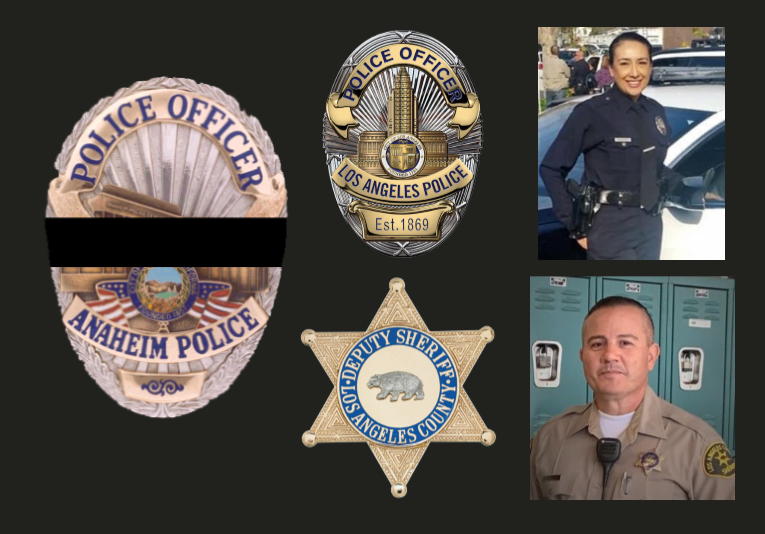 To our brothers & sisters at @LAPDHQ  & @LASDHQ we mourn with you the deaths of Officer Esmeralda Ramierz and Deputy Joseph Solano. Ofc Ramirez died following surgery related to a 2015 on-duty car accident & Dpty Solano was shot in the head as a victim of an off duty murder. RIP