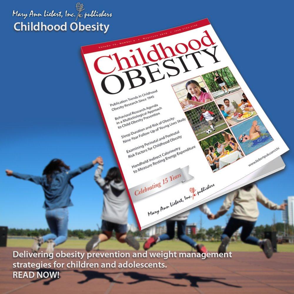 peer reviewed journal article on childhood obesity