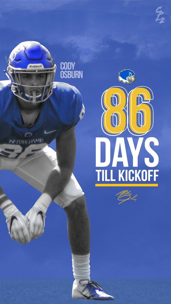 86 days till Kickoff! #TakeFlight  <br>http://pic.twitter.com/1vzARVPuOI