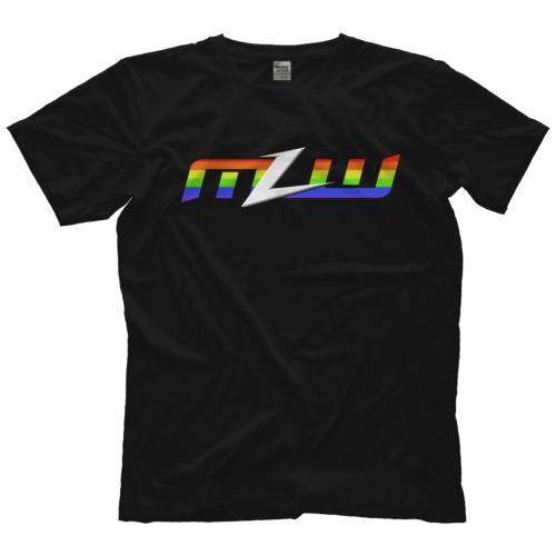 MLW & @OneHourTees have teamed up for a Pride T-shirt at http://MLWShop.com  ALL profits are donated to @TrevorProject. The Trevor Project is a non-profit organization that focuses on suicide prevention efforts among lesbian, gay, bisexual, transgender & questioning youth.