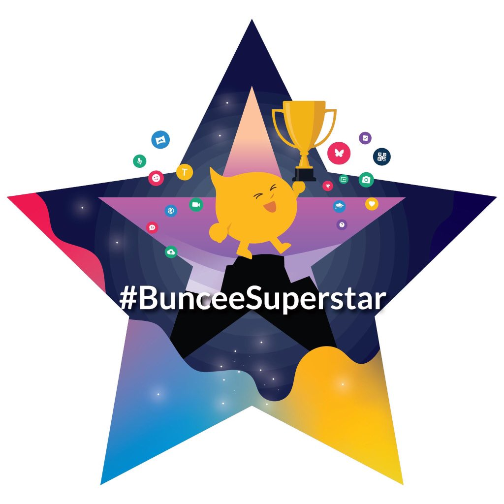 Shout out to our Buncee Superstars for creating a ton of amazing Buncees and making it into the #BunceeSuperstarClub