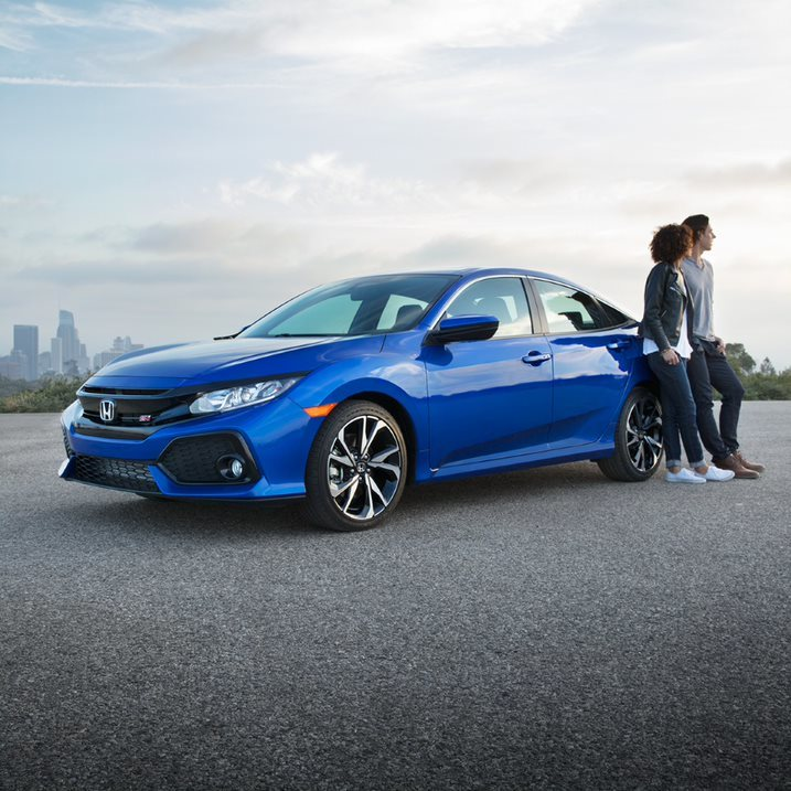 Endless pavement. That's what the turbocharged Civic Sedan craves. Where are you taking yours this weekend?